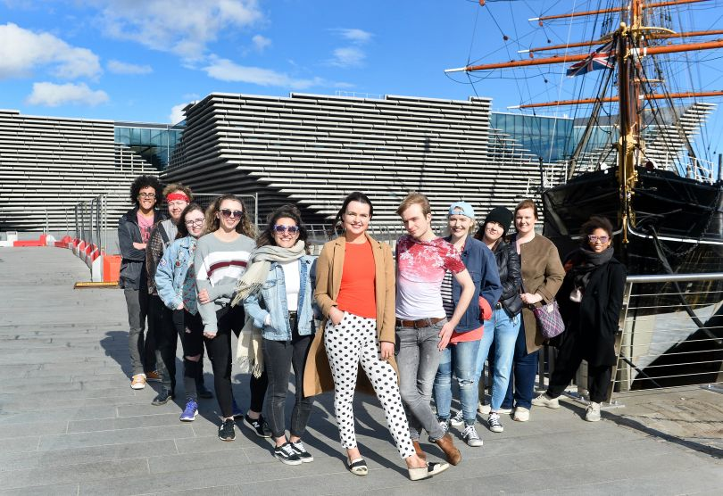 V&A Dundee's Young People's Collective. Photography by Julie Howden