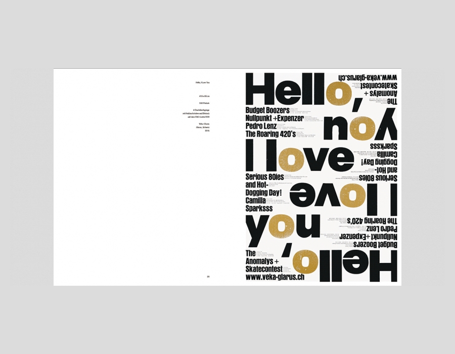 Swiss graphic designer Dafi Kühne's stunning book True Print