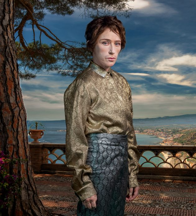 Cindy Sherman Untitled #603, 2019 dye sublimation print 84 3/4 x 77 inches  215.3 x 195.6 cm. Courtesy of the artist and Metro Pictures, New York