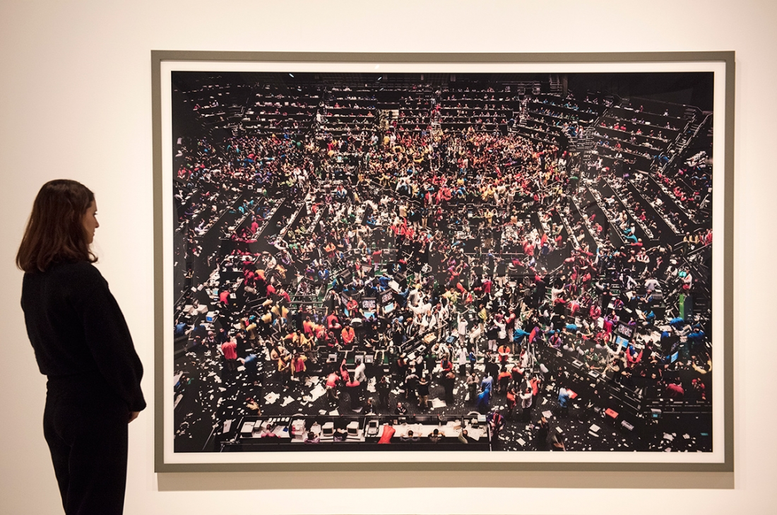 Installation images, Andreas Gursky at Hayward Gallery 25 January - 22 April 2018. Credit: Linda Nylind
