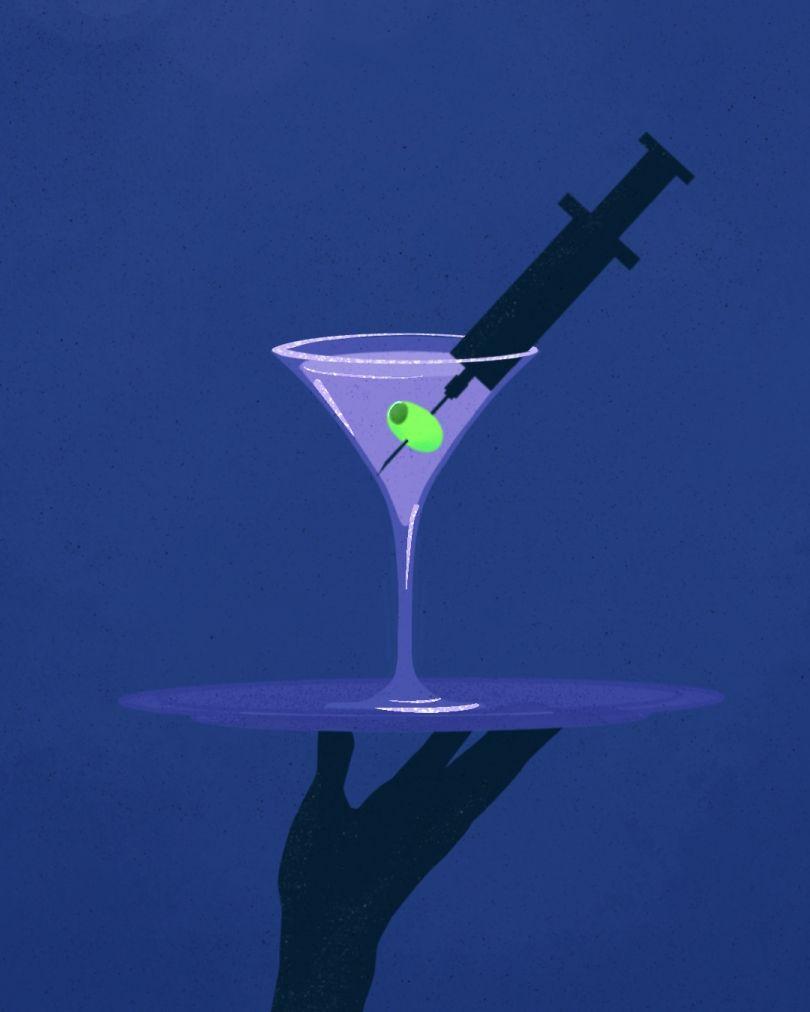 Covid Bar © Pablo Tesio