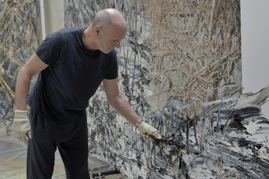 Portrait Anselm Kiefer: Anselm Kiefer. Photo: Charles Duprat 2014