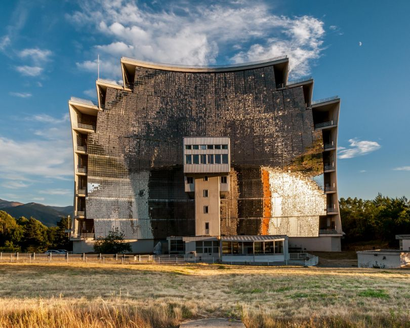 Odeillo Solar Furnace; French National Centre for Scientific Research, France © Alastair Philip Wiper