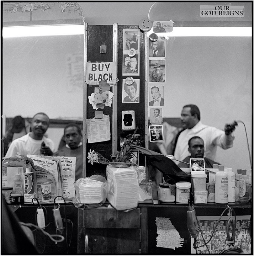 Buy Black, House's Barber Shop © Jeffrey Henson Scales