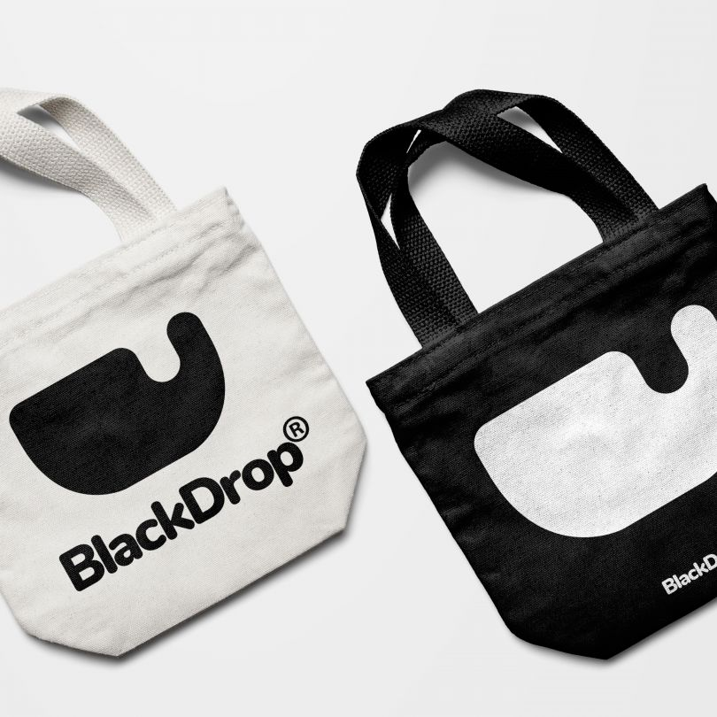 Blackdrop Brand Identity by Aleks Brand is Winner in Graphics and Visual Communication Design Category, 2019 - 2020