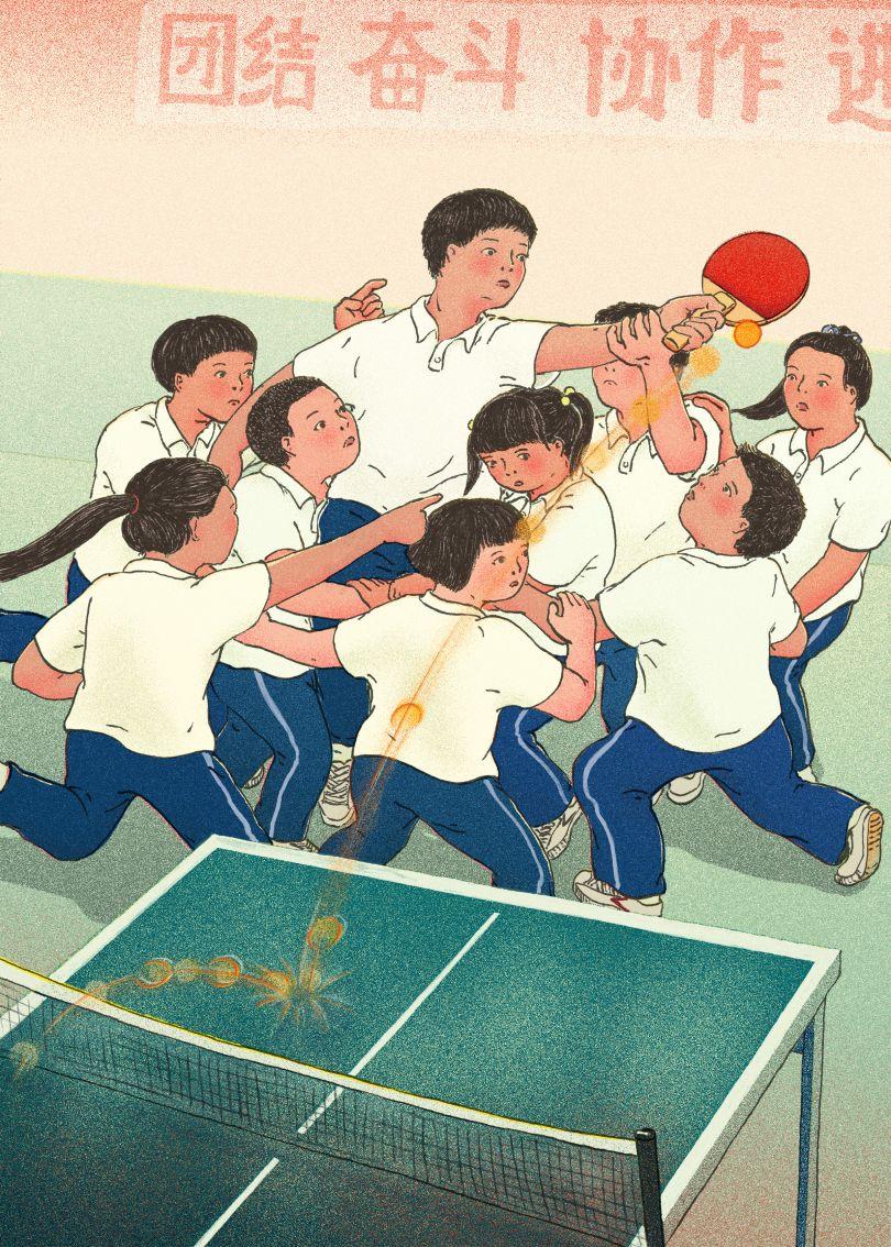 Be a team player © Xinmei Liu