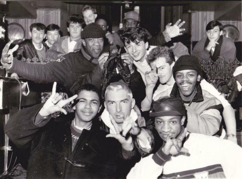DMC N/W heats 1988 Midland Hotel Manchester  feat Sefton Terminator, Hewan Clarke, Chad Jackson, Owen D