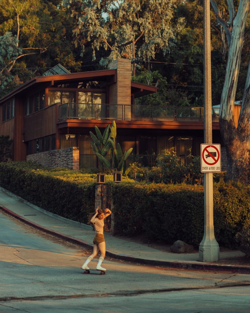 From the series, Silver Lake © Franck Bohbot