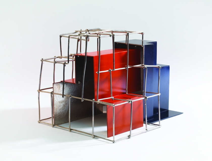 Study for Berkeley Square, 2011, Mid steel and painted zinc, Unique, 22.5 x 31 x 25 cm