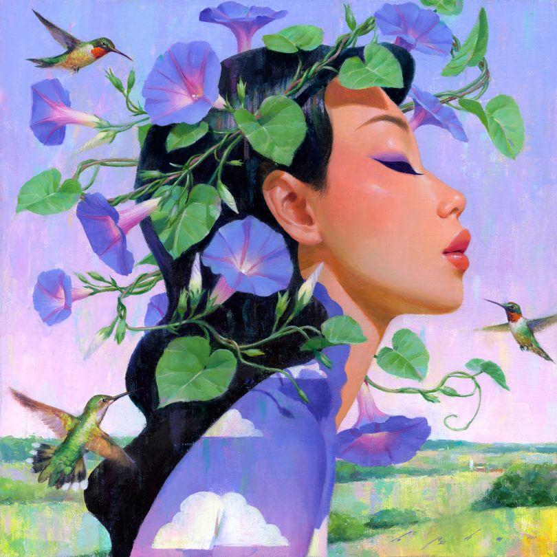 Crown of Morning Glories © Bao Pham