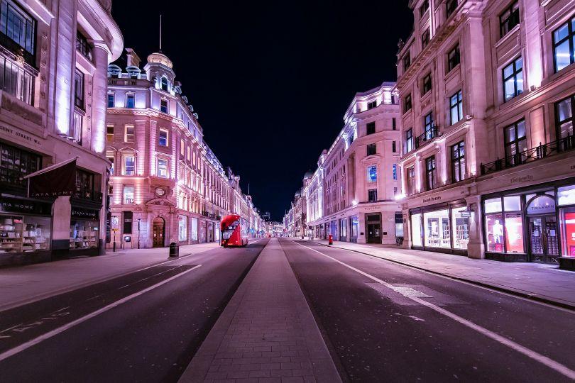 Regent Street, 5 April 2020 © Jan Enkelmann