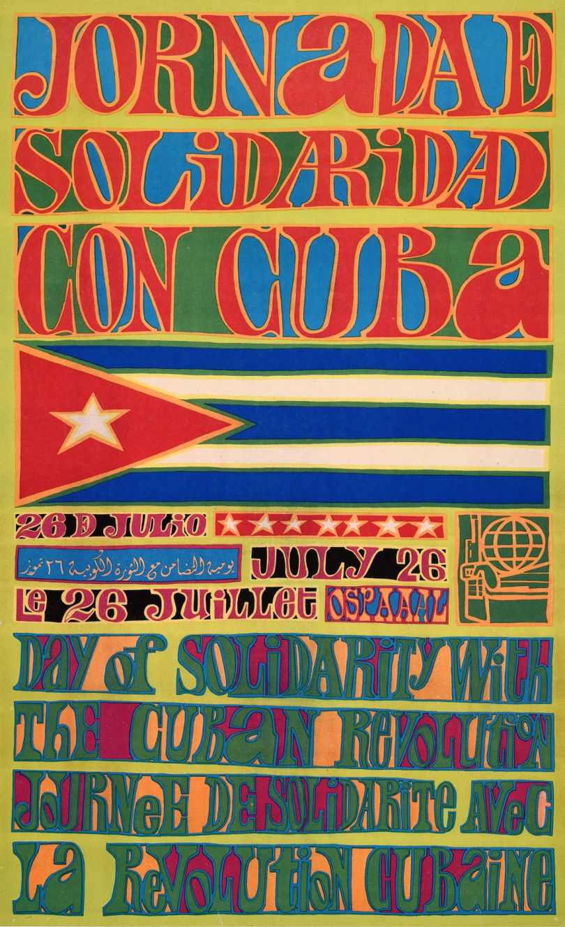Olivio Martínez Viera, 1969, OSPAAAL, The Mike Stanfield Collection