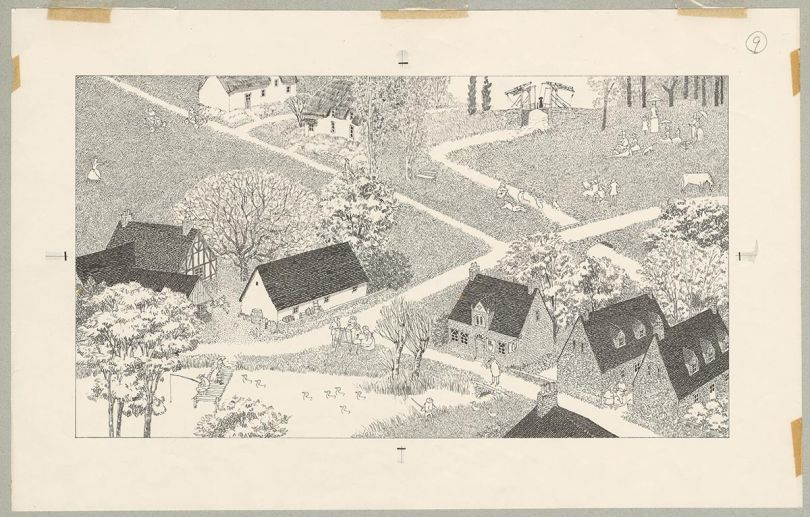 Pages 20&21 from 'Anno's Journey' (Courtesy of Anno Art Museum, Tsuwano)