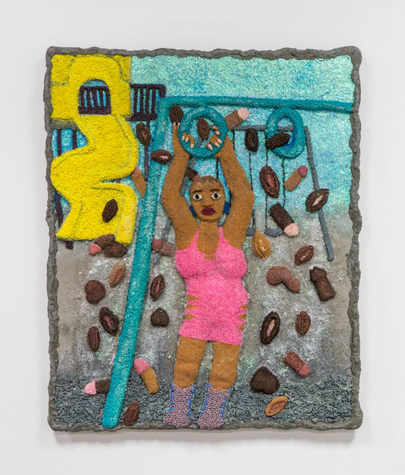 Pink Holiday, 2021. Courtesy of the artist and Monique Meloche Gallery
