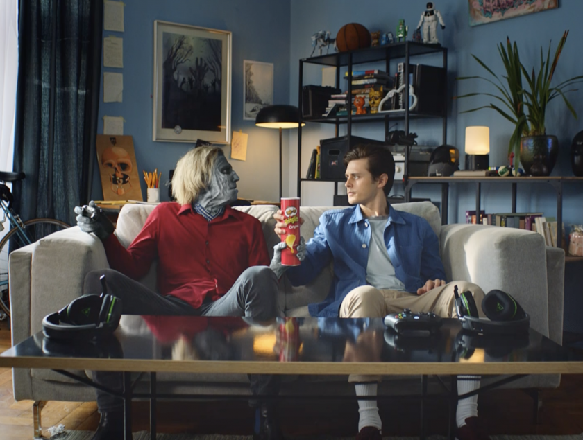 Meet Frank: Grey's latest campaign for Pringles where a zombie escapes a video game