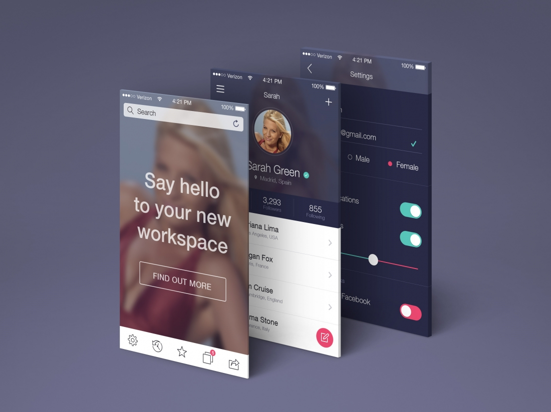50 of the best free mockups for graphic designers in 2016 | Creative