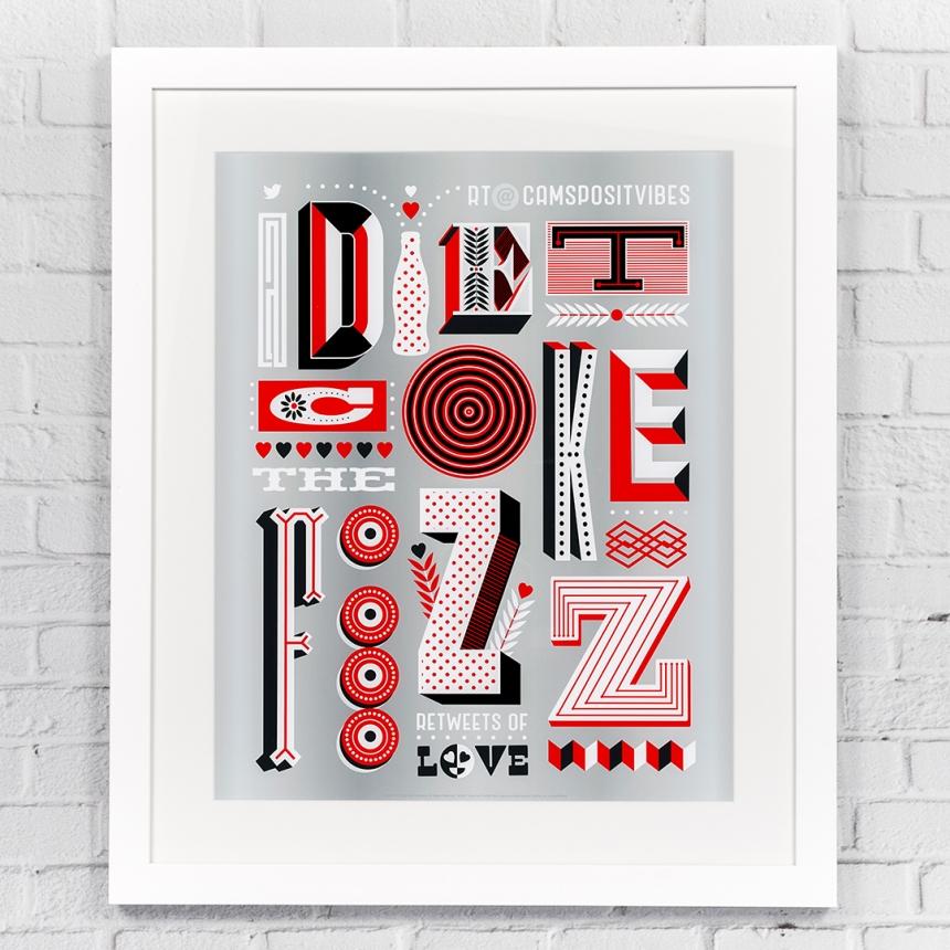 [Gemma O'Brien](https://www.behance.net/gallery/35278885/Diet-Coke-Retweets-of-Love)
