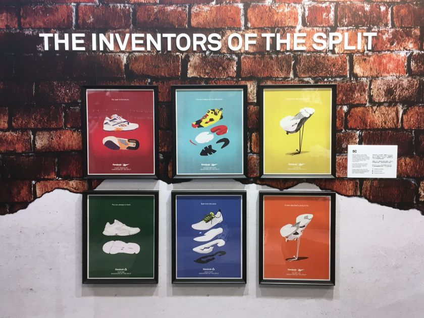 Stanley Wong's stylish sneaker illustrations for Reebok Hong Kong