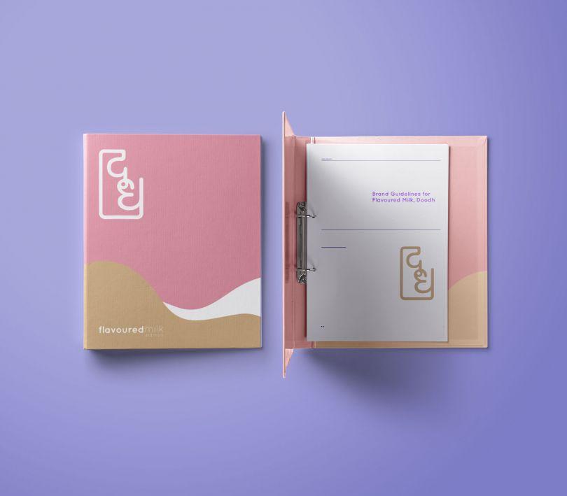 Simoul Alva, Branding Concept for Doodh Flavoured Milk