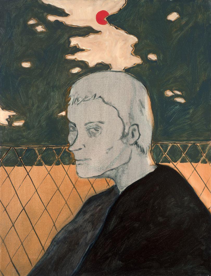 Portrait, 2018, oil on canvas, 65 x 50 cm