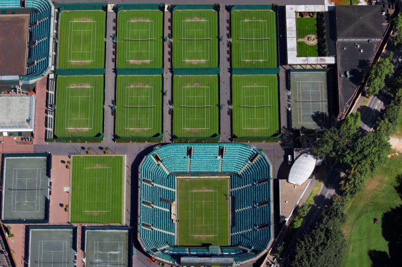 Perimeter Courts at Wimbledon © Paul Campbell Photographer