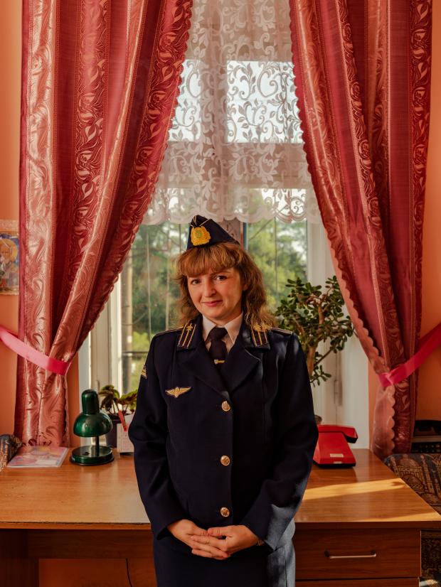 Tetyana Dobronozhenko © Sasha Maslov/INSTITUTE