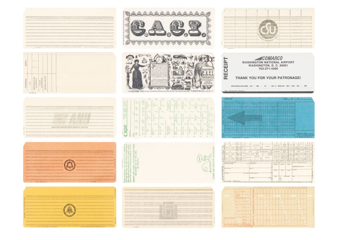 What Obsolete Computer Punch Cards Reveal About The History Of Information Design In Today S Era Of Unseen Data Creative Boom