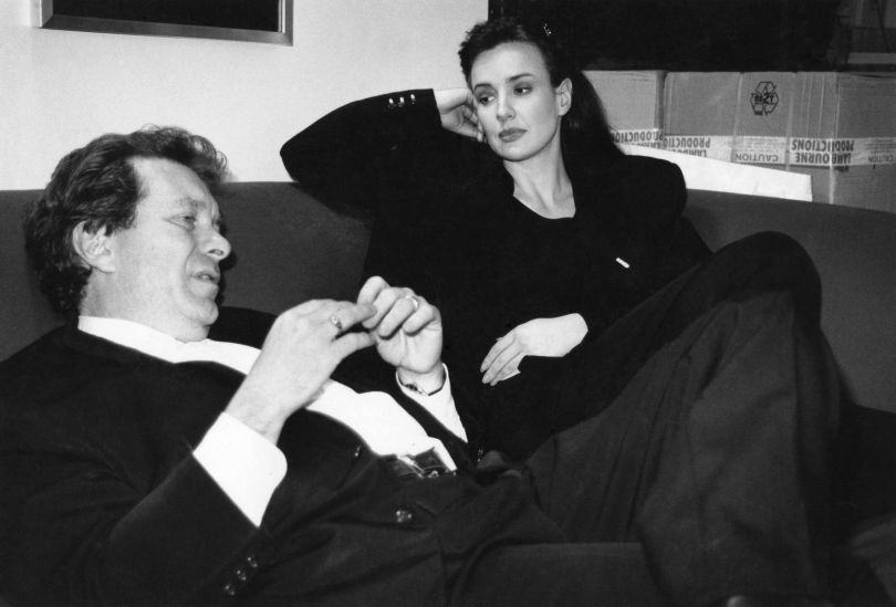 Tony & Girlfriend, 1997 flat © Amelia Troubridge