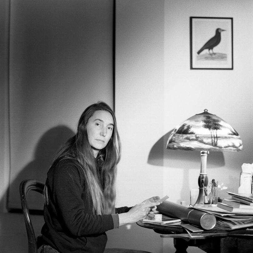 Jenny Holzer, N.Y.C., 1984 © Jeannette Montgomery Barron