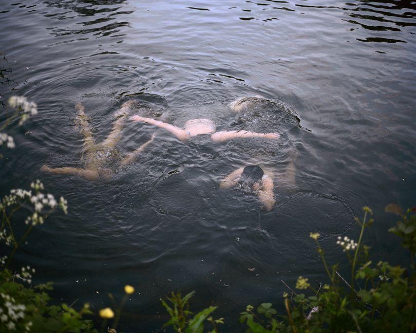 Girls Swimming at Dusk © Sian Davey. Courtesy of Michael Hoppen Gallery