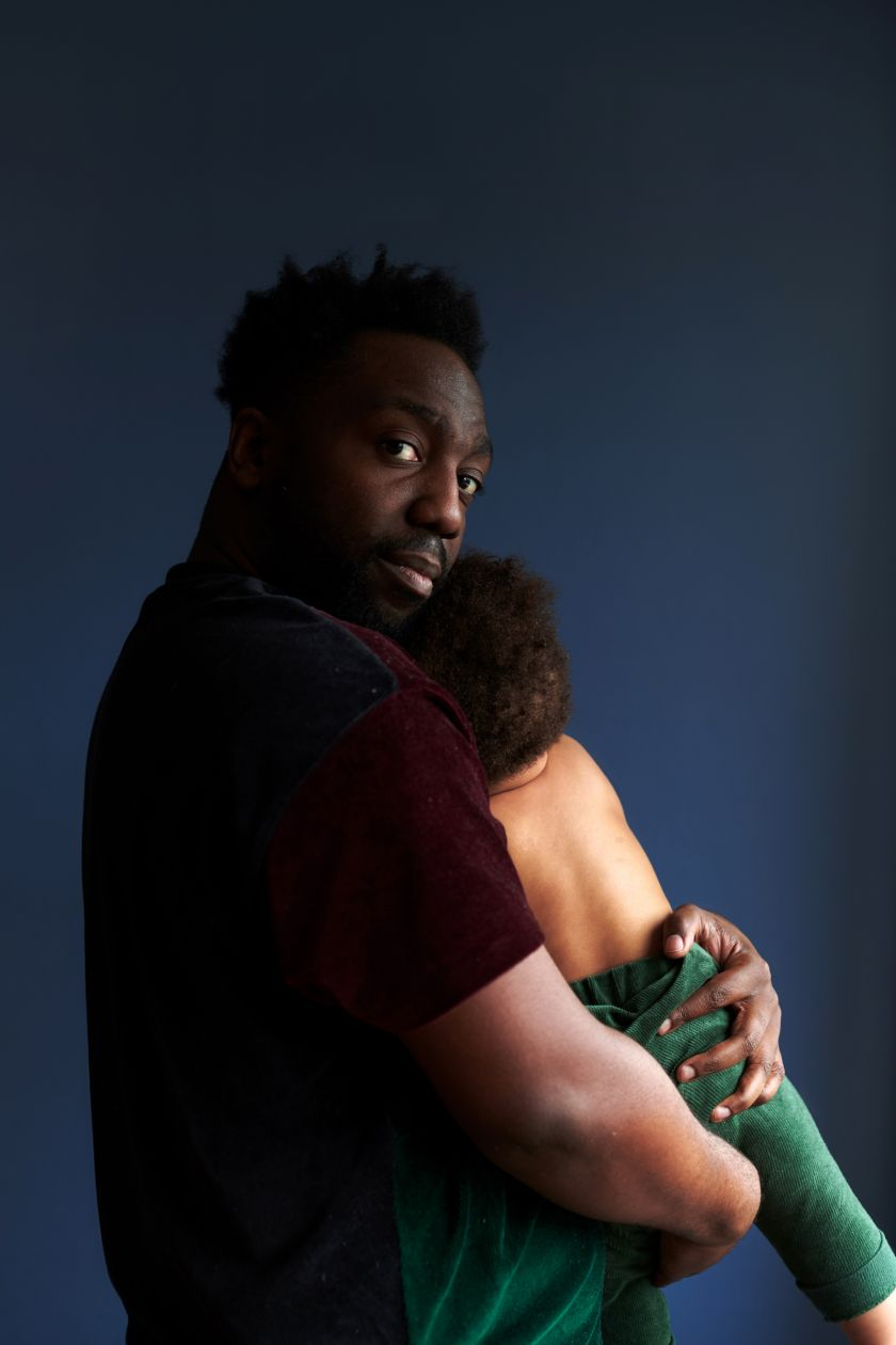 Nathaniel and Nova – From the series, Present Fathers © Sophie Harris-Taylor