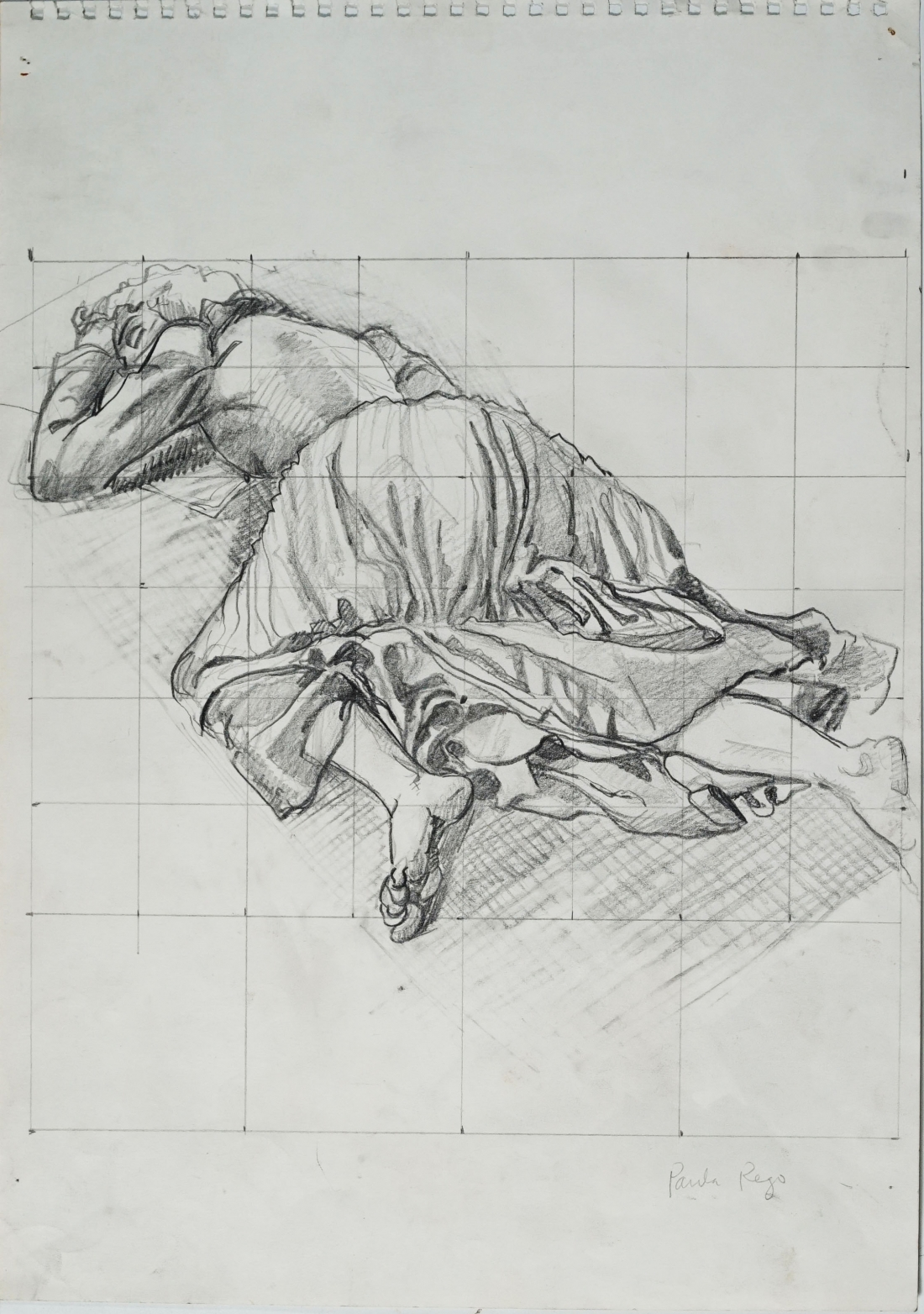 Paula Rego, Life Study for The Return of the Native 2, 1992, Private Collection © Paula Rego, courtesy Marlborough Fine Art