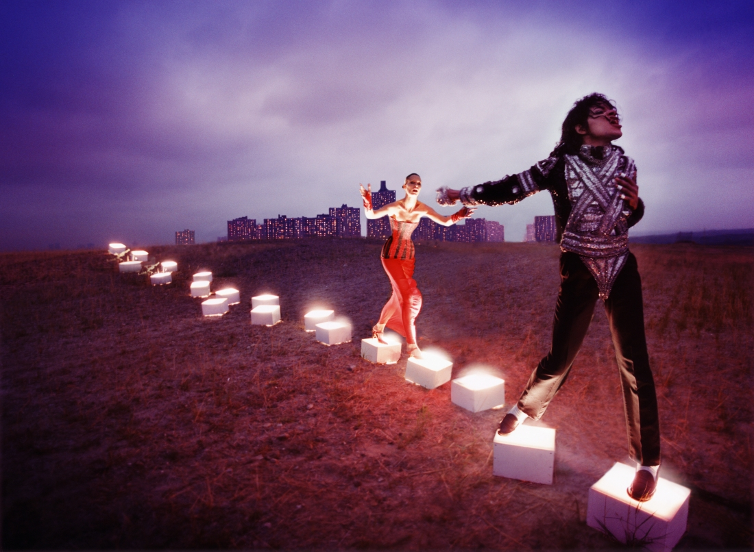 An illuminating path, 1998 by David LaChapelle. Courtesy of the artist