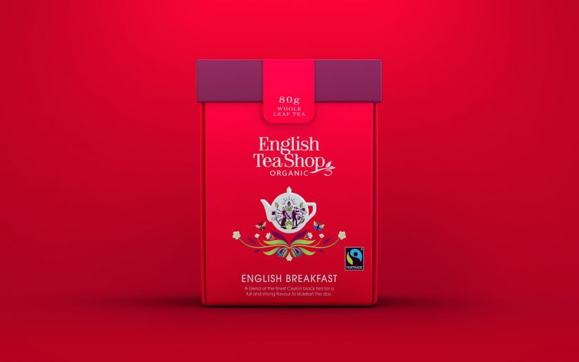 Echo Brand Design creates 100% compostable packaging for English Tea Shop
