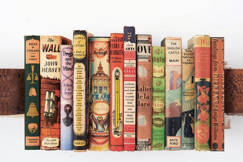 Book Jacket Design History : The illustrated dust jacket celebrates history of