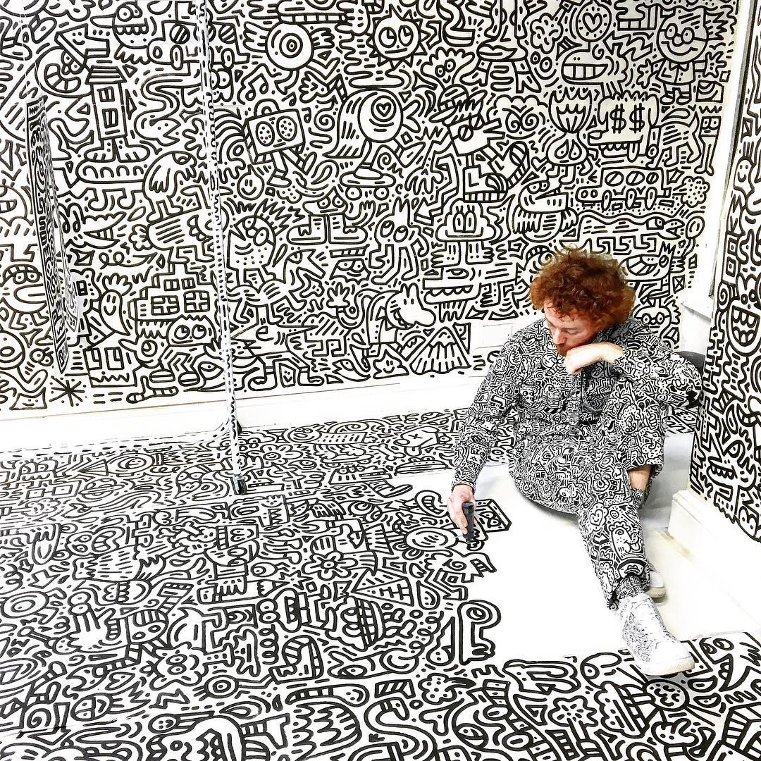 Meet Mr Doodle, the artist from another planet who wants us