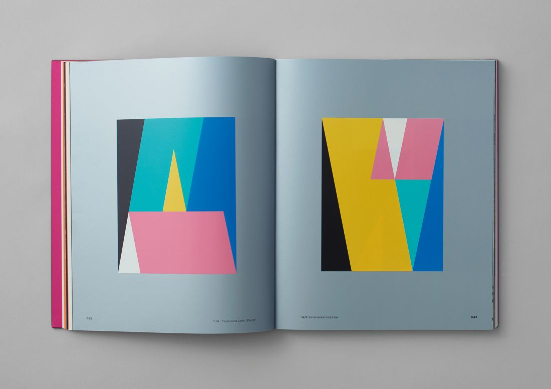 David Barath's striking, Bauhaus-esque designs for new Fedrigoni book