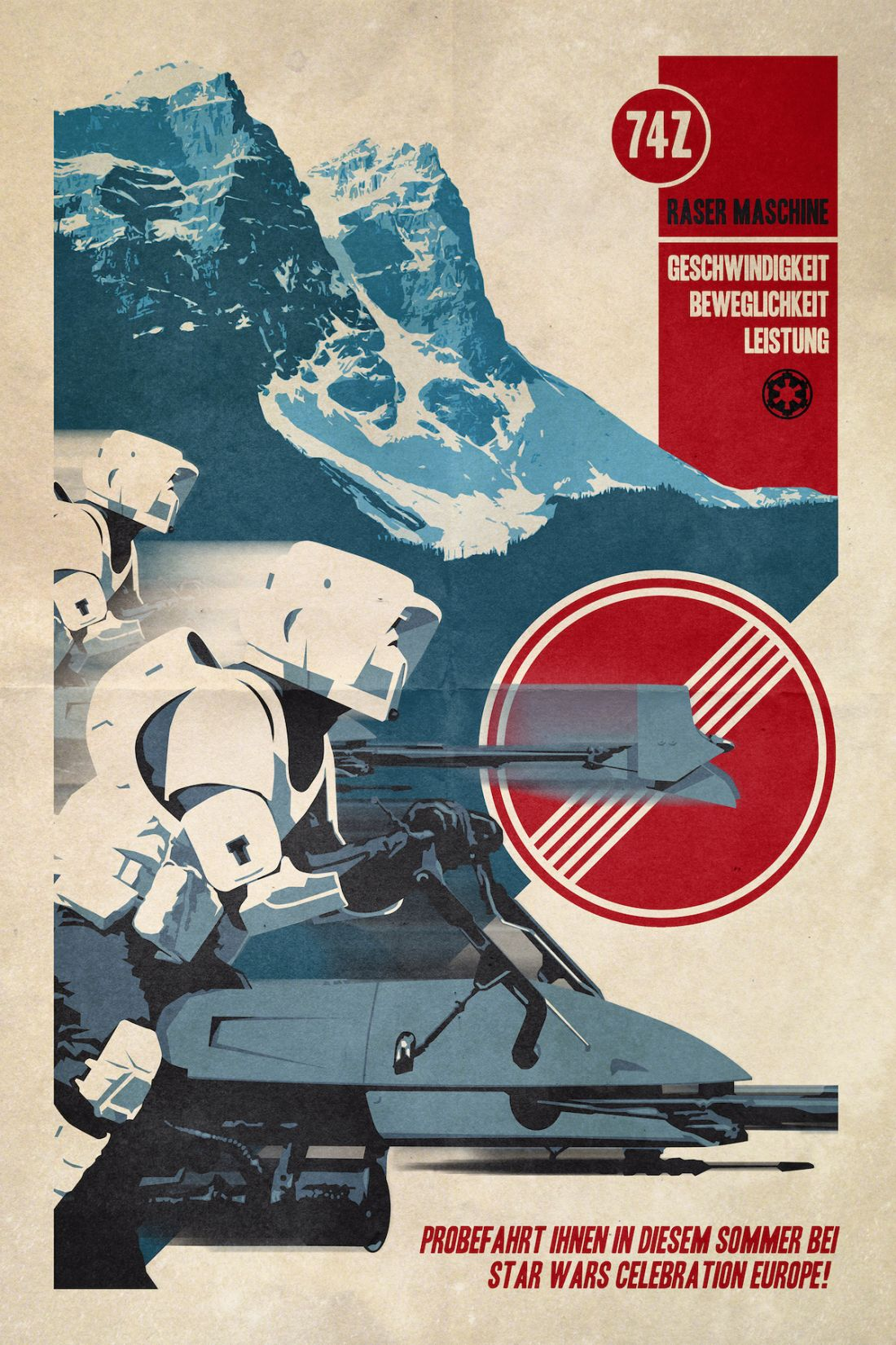 Use The Force: Classic Star Wars iconography transformed ...