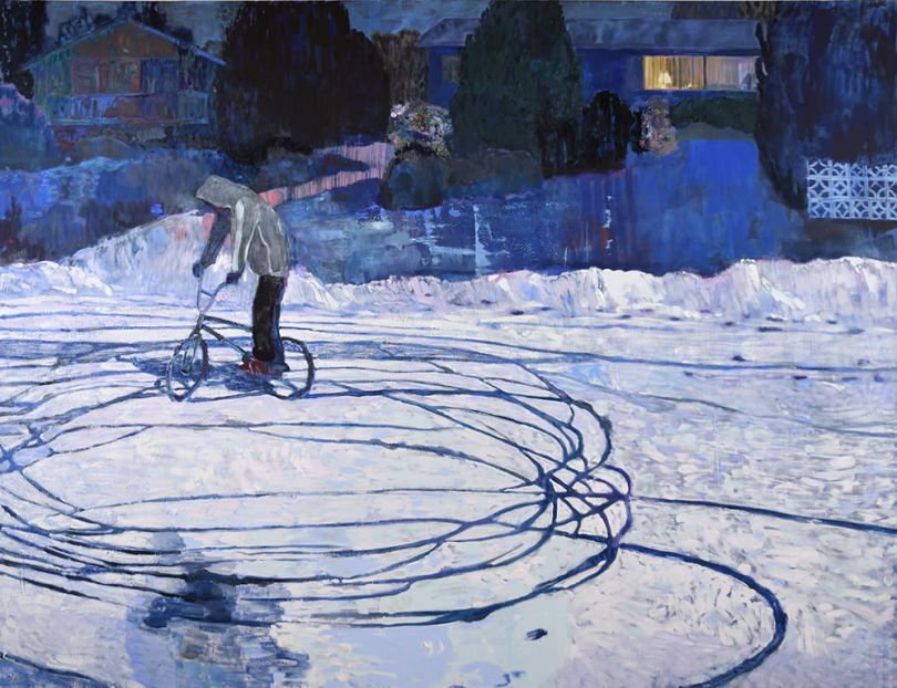 Tire Tracks, 2020 © Ben Reeves. Courtesy of Nicholas Metivier Gallery, Toronto