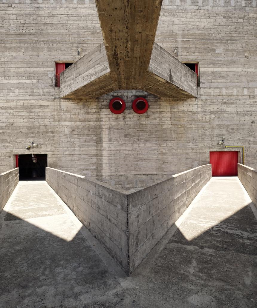 Photographer: Inigo Bujedo Aguirre SESC Pompeia, Sao Paolo, Brazil  Architect: Lina Bo Bardi