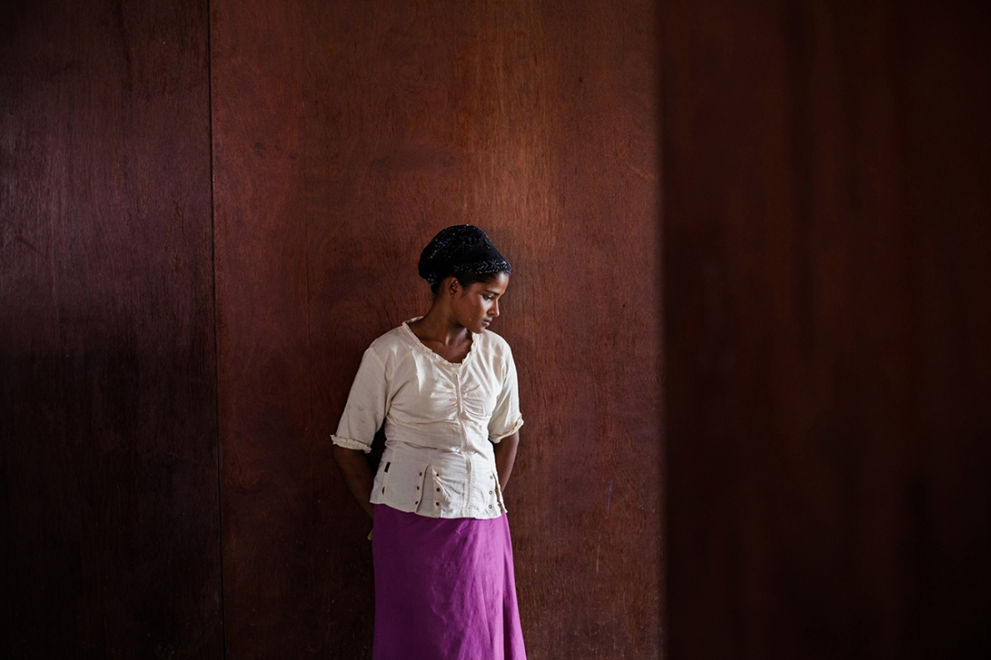 Stateless Women - Fauzan Ijazah: In May 2015, hundreds of Rohingya refugees from Myanmar have landed in several areas of Aceh, Indonesia. Some of them reached the shore on their own, but most of them were rescued off at sea by the Acehnese fishermen. (Professional Portraiture)
