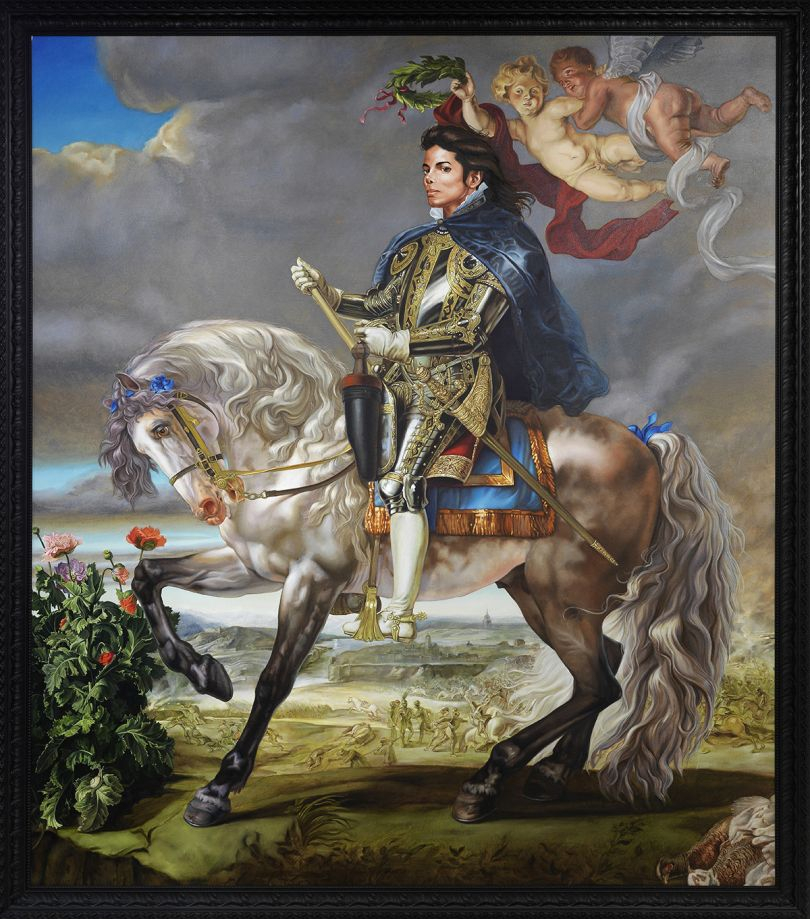 Equestrian Portrait of King Philip II (Michael Jackson), 2010 by Kehinde Wiley. Olbricht Collection, Berlin. Courtesy of Stephen Friedman Gallery, London and Sean Kelly Gallery, New York