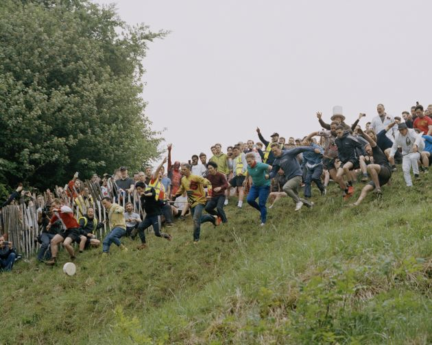 Cooper's Hill Cheese Rolling, Gloucestershire
