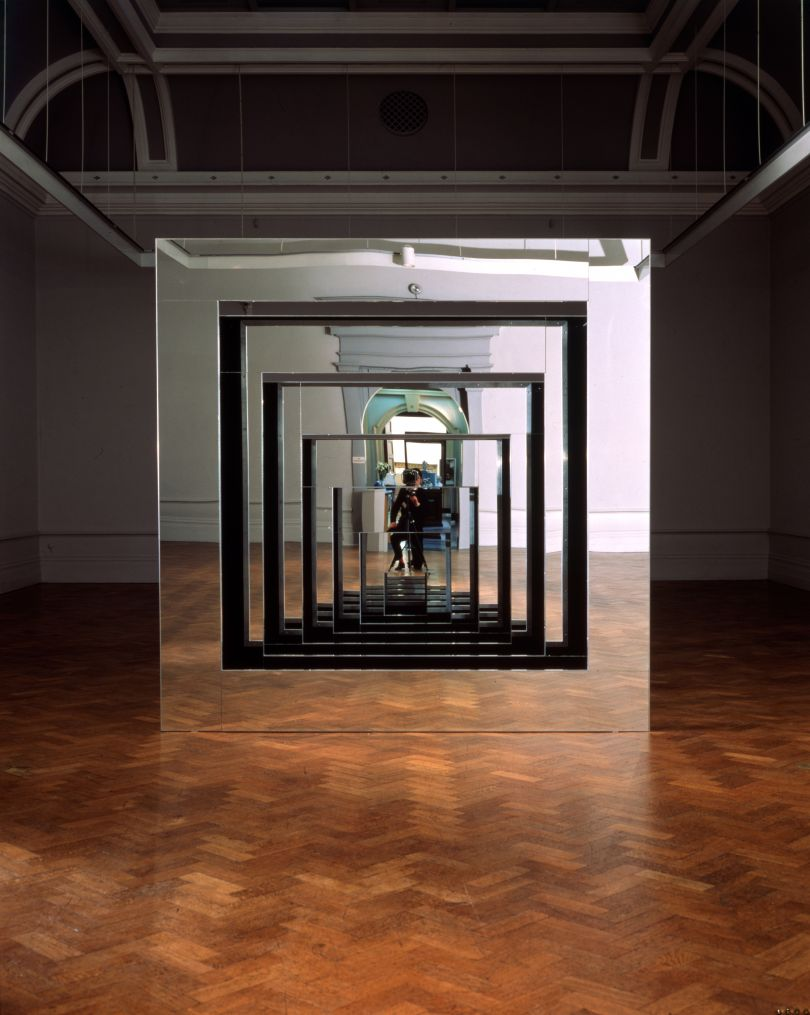 Julia Wood, Frame Infinite, 1988, Plymouth City Museum and Art Gallery.
