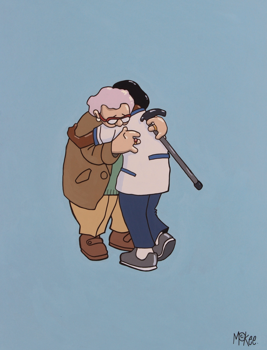 National Hug Service. Always there when you need it the most.