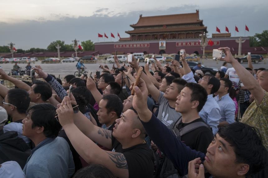 Mao Mausoleum, Tiananmen Square, Beijing, China