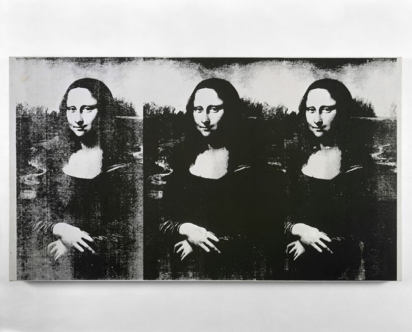 Andy Warhol, Triple Mona Lisa, 1964. © 2019 The Andy Warhol Foundation for the Visual Arts, Inc. / Licensed by Artists Rights Society (ARS), New York.