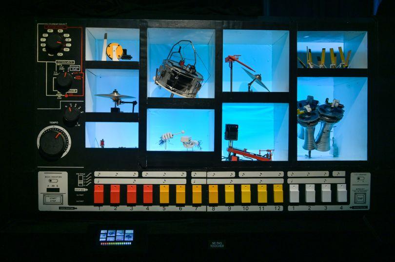 MR 808 interactive by ROBOTS SONIC. Photo credit - Gil Lefauconnier