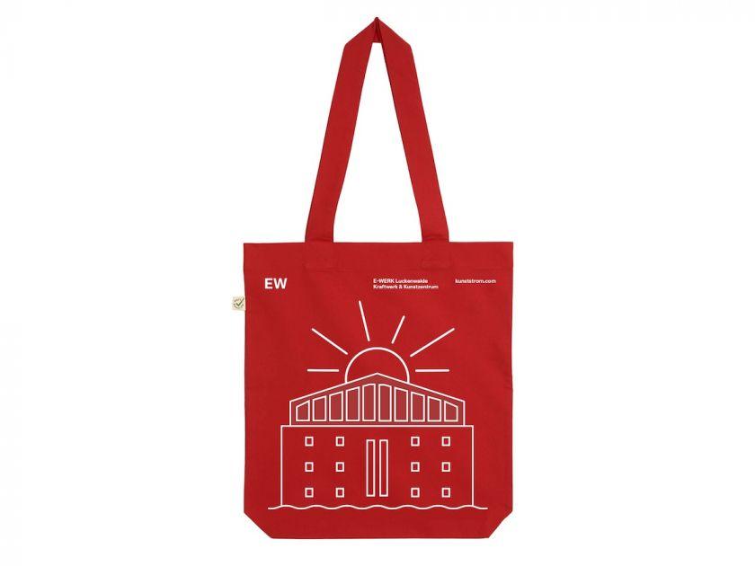 E-WERK Tote Bag. Courtesy of E-WERK and Studio Lorenz Klingebiel