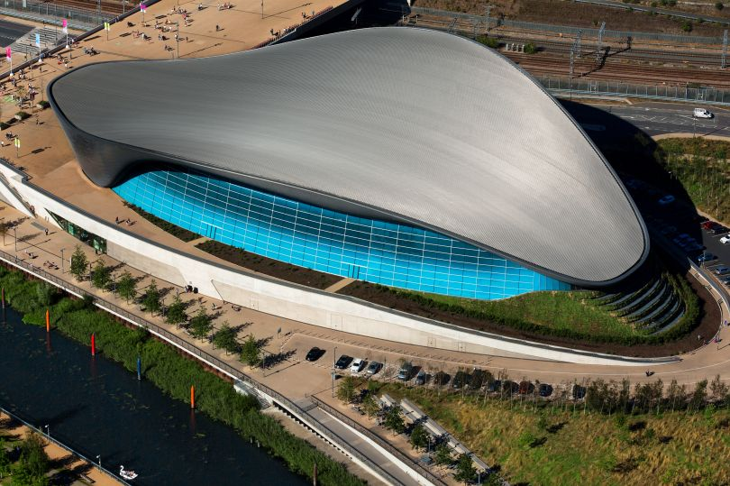 London Aquatic Centre, Queen Elisabeth Olympic Park © Paul Campbell Photographer